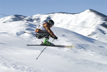 Ski Racing, Catching Air, Speed